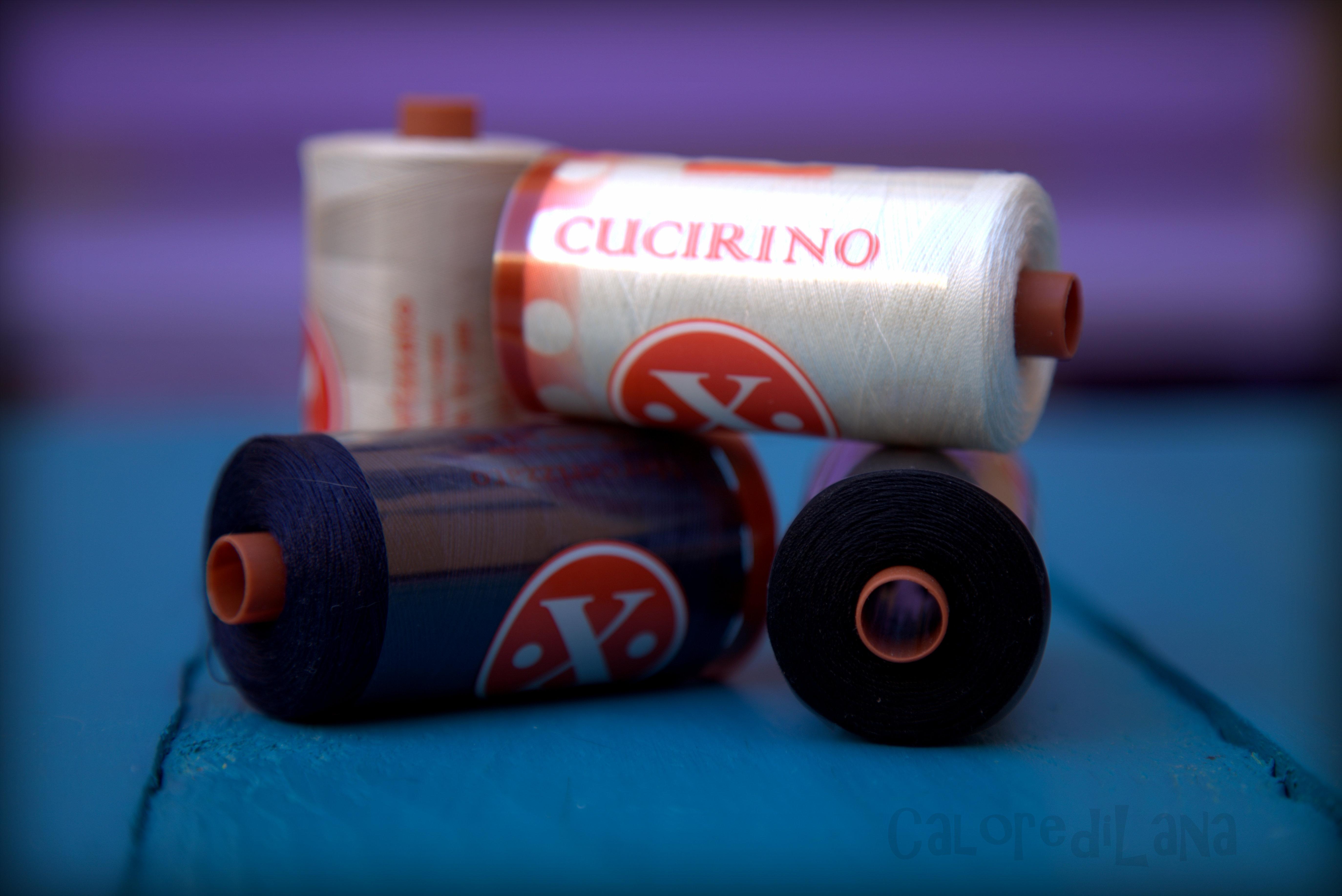 Cotone per cucito - 1000 yards - Calore di Lana www.caloredilana.com