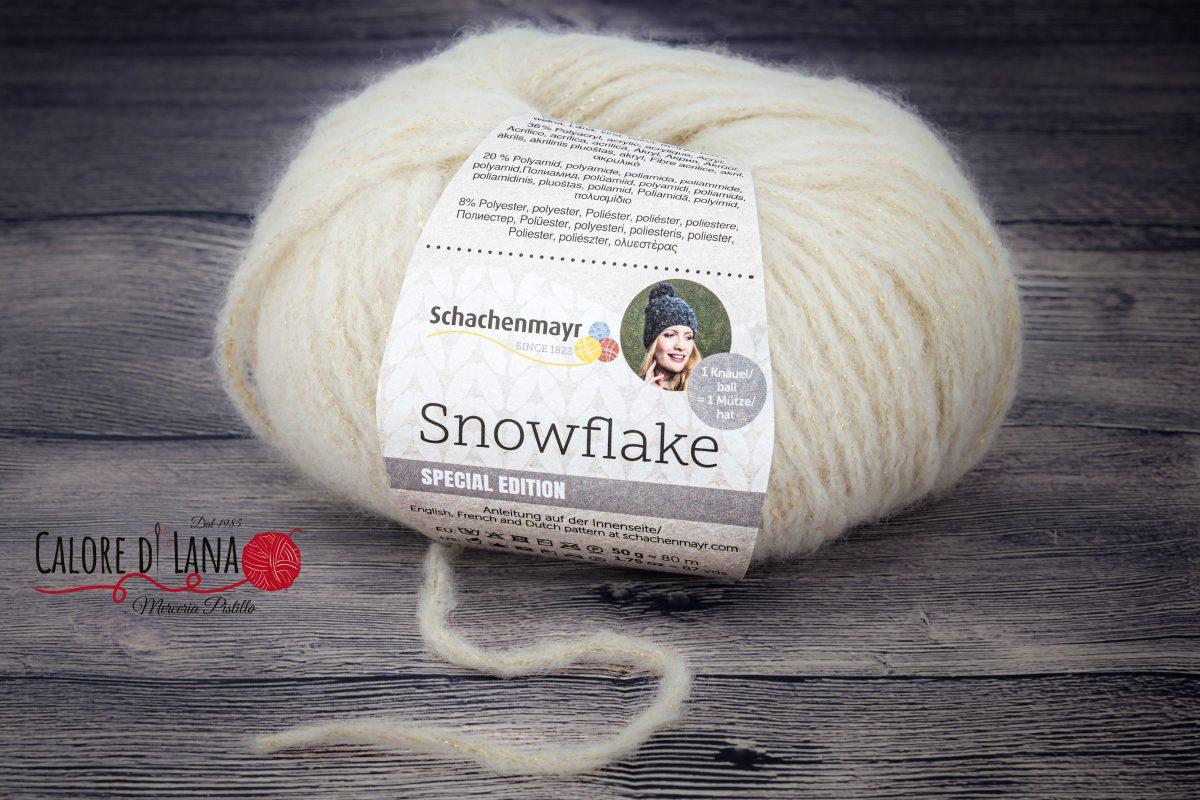 Snowflake Schachenmayr - Calore di Lana www.caloredilana.com