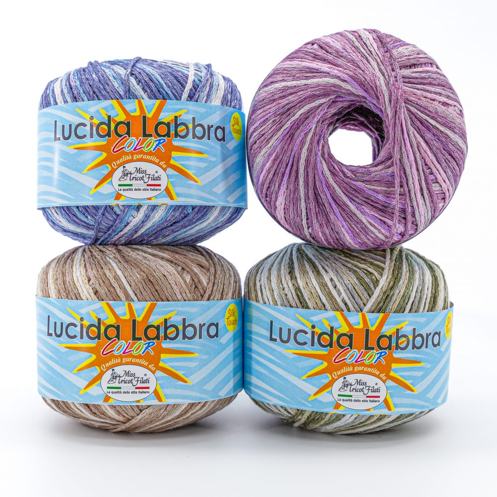 Lucida Labbra Color Miss Tricot Filati - Calore di Lana www.caloredilana.com