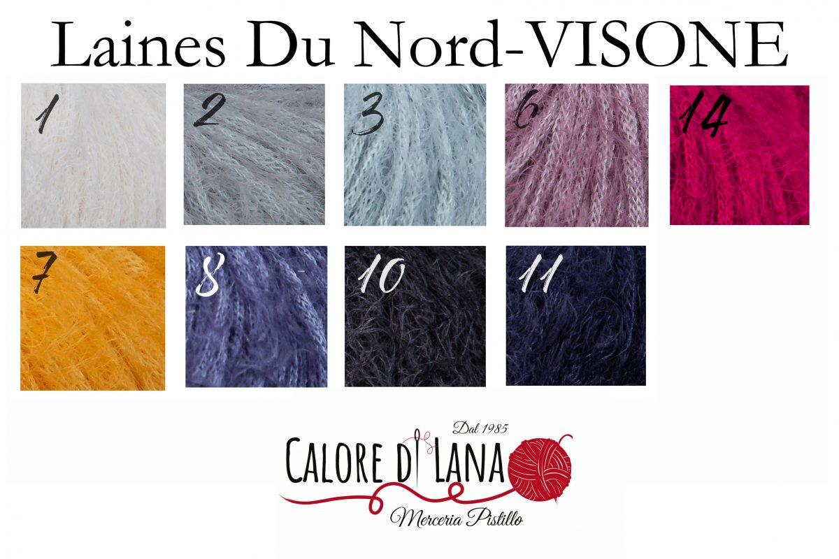 Visone Laines du Nord - Calore di Lana www.caloredilana.com