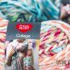 Collage Red Heart Yarn - Calore di Lana www.caloredilana.com