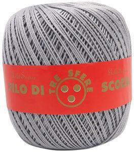 Cotone Filo di Scozia per uncinetto tit. 5 - Calore di Lana www.caloredilana.com