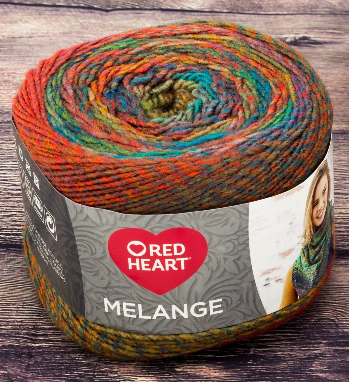 Melange Red Heart - Calore di Lana