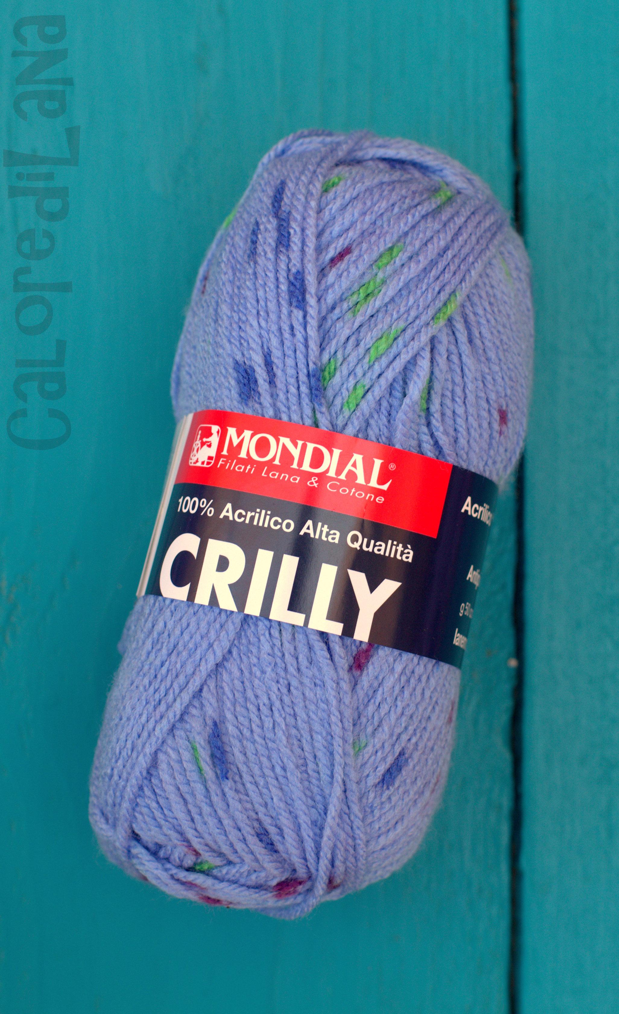 blu Crilly filato 100/% Acrilico
