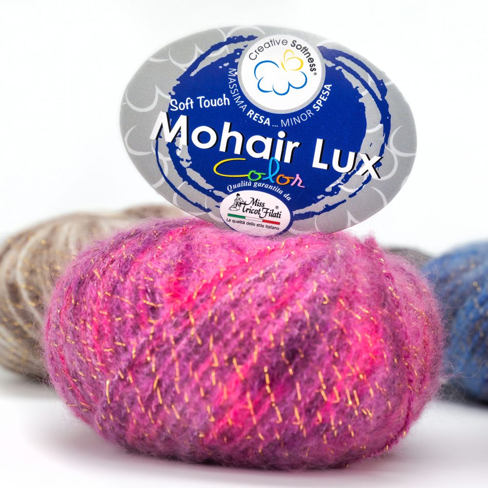 Mohair Lux Color Miss Tricot Filati